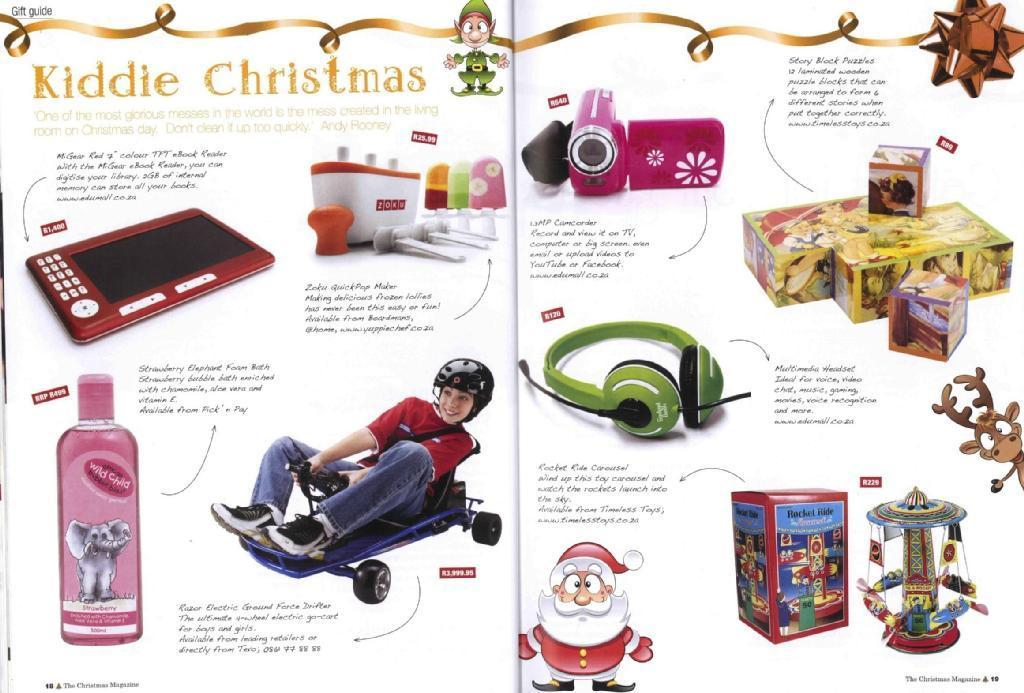 Feature Article - Kiddie Christmas (The Christmas Magazine, Panorama Publications)